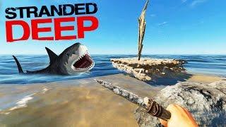 NUEVA BARCA ANTI-TIBURONES!! Stranded Deep #7