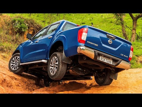 2019 Nissan Frontier Pickup Truck Off-Road Test Capabilities