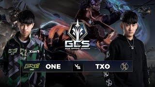 ONETeam  vs TXO - Tuần 9 Ngày 2 - GCS Mùa Xuân 2019