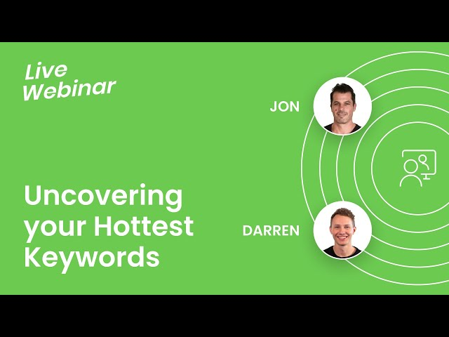 Uncovering HOTTEST Keywords to Maximize YOUR PROFIT 🔥 Live Webinar Replay #FBA