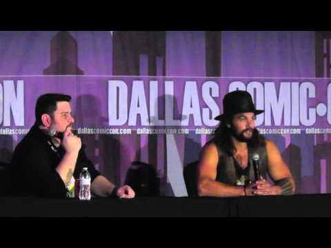 Dallas Comic Con - FanDays Oct 2015 - Jason Momoa