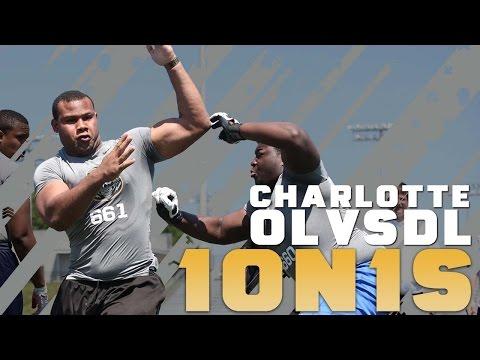 Nike Football's The Opening Charlotte | OL vs DL 1 on 1's