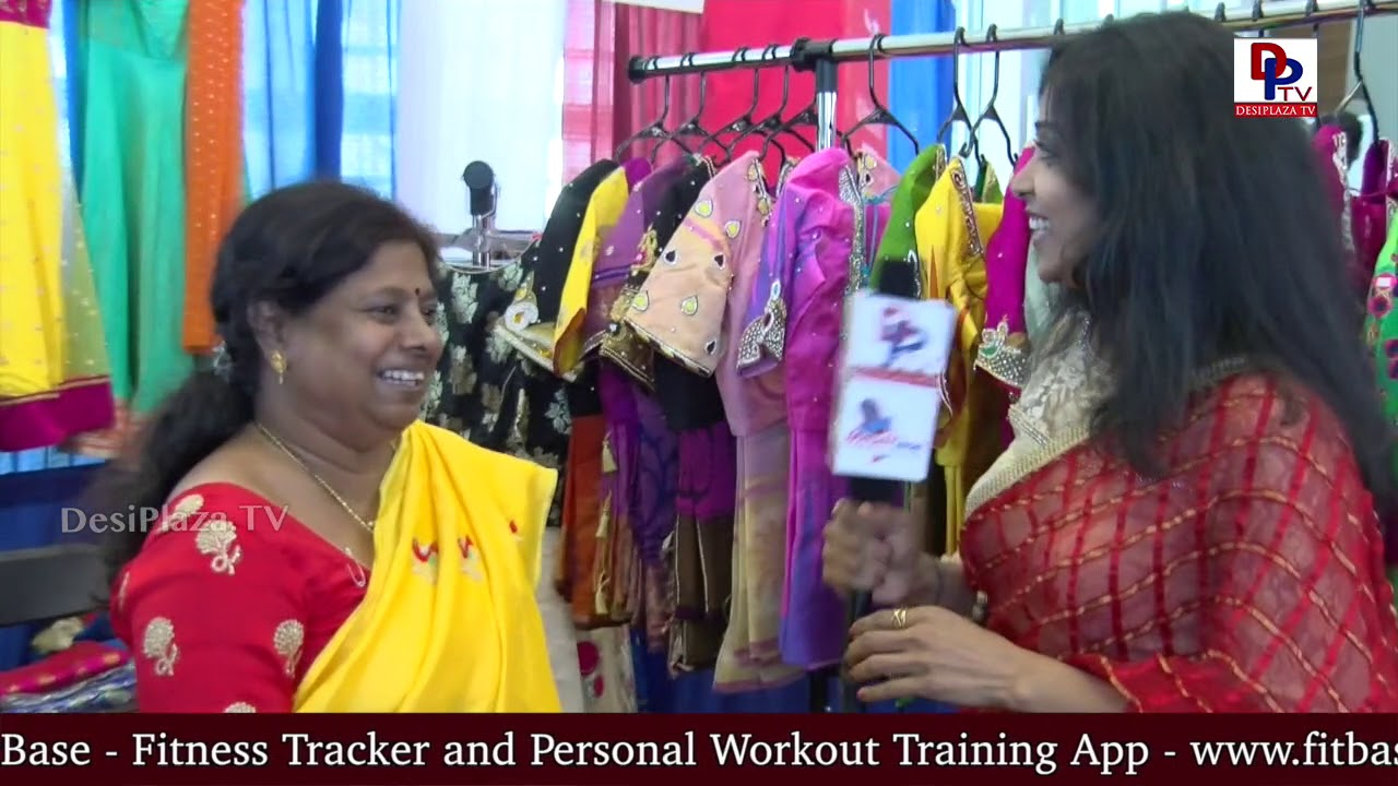 Clothing Vendor speaks to DesiplazaTV at America Telugu Convention - Dallas, TX | DPTV