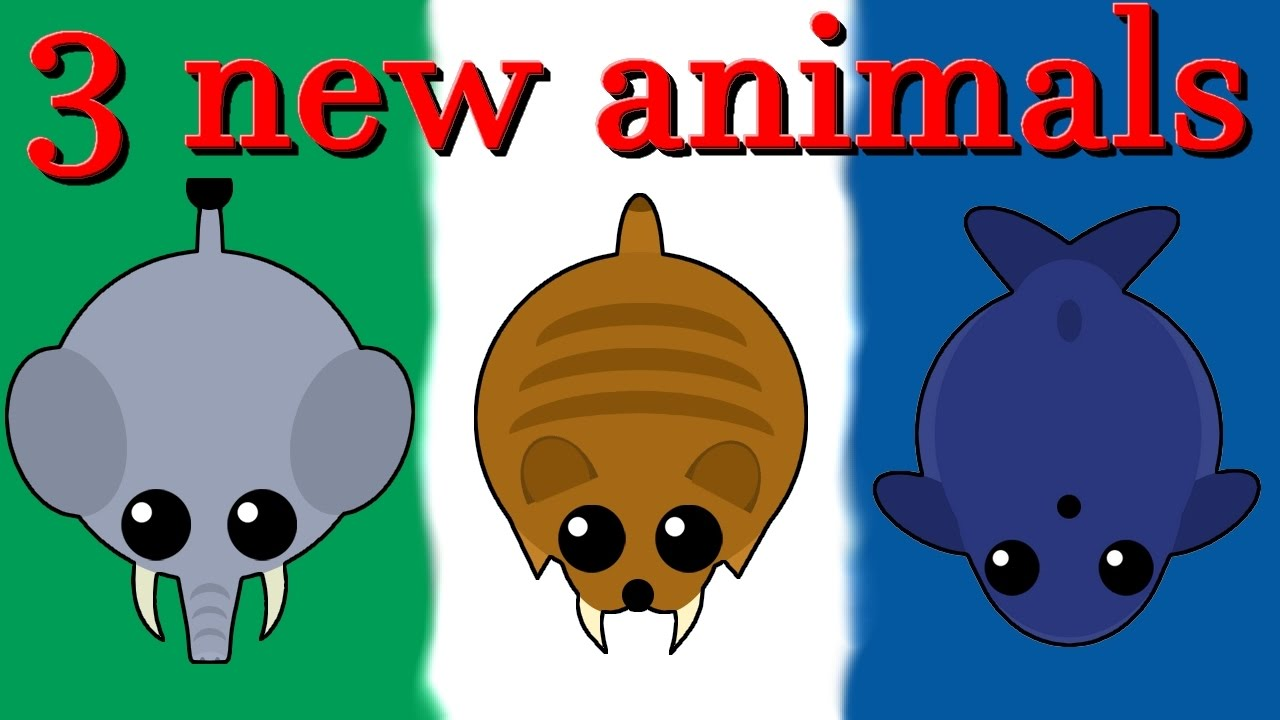 Mopeio All Animals 3 New Animals Elephant Blue Whale Sabertooth Tiger YouTube
