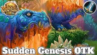 Gameplay Sudden Genesis OTK Warrior Kobolds And Catacombs | Hearthstone Guide How To Play