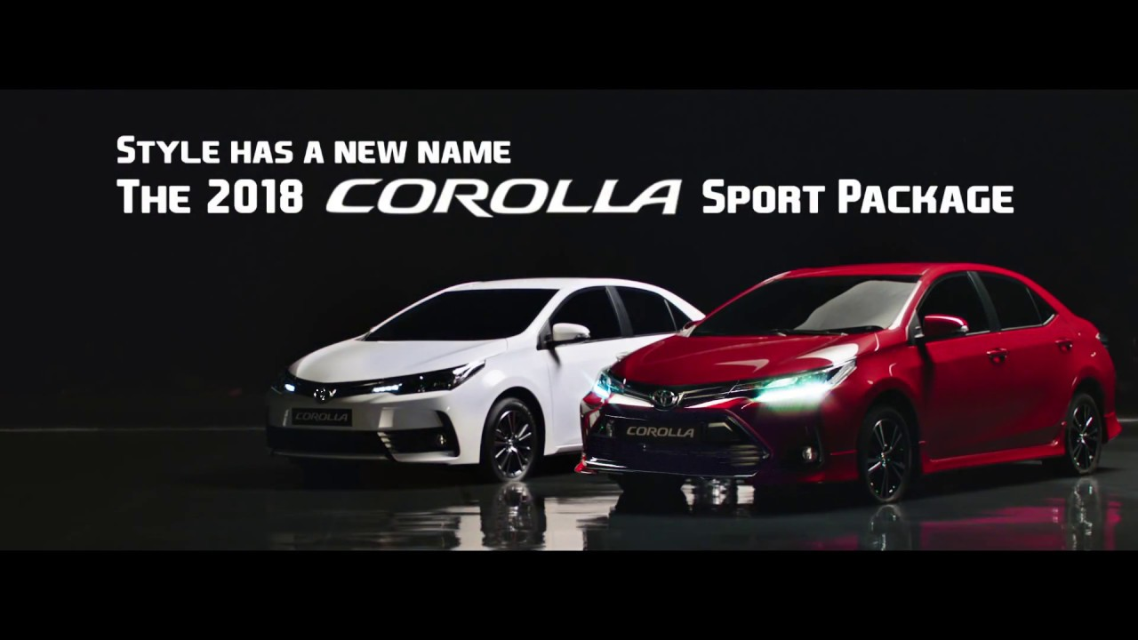 The All New Toyota Corolla Sport 2018 Is Back