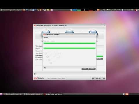 Bitdefender Antiviren Scanner für Ubuntu