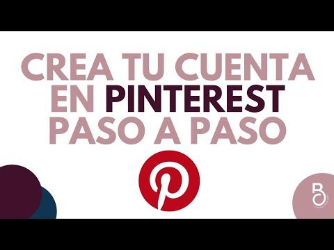 Crea Tu Cuenta En Pinterest Paso A Paso