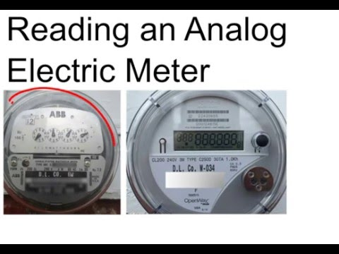 reading an analog electric meter calculate usage and. Black Bedroom Furniture Sets. Home Design Ideas