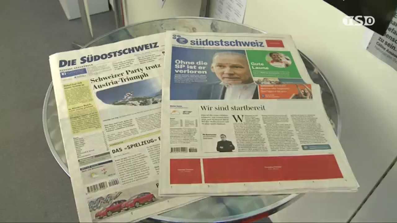 Zeitung Südostschweiz Youtube