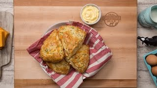 Cheddar Cheese and Green Onion Scones