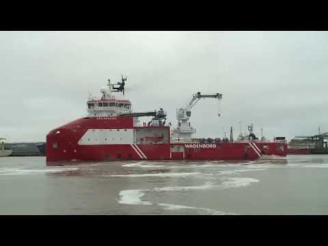 Barge Master T40 - Motion compensation demonstration