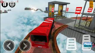 Impossible Bus Simulator / Bus Driver Simulation Games / Android Gameplay Video
