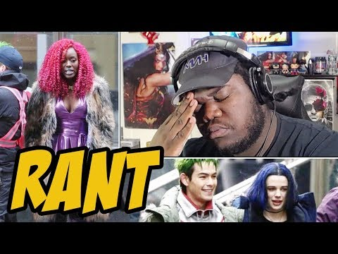 Titans Starfire RANT!! (Beast Boy & Raven Too!!)
