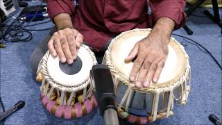 Tabla lesson # 216 Bhajani Theka Variations  - Hindi
