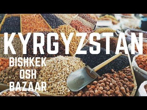 BISHKEK OSH BAZAAR | KYRGYZSTAN THINGS TO DO | FIRST WORLD TRAVELLER