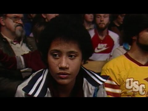 The Rock Watches His Dad: Championship Wrestling, March 17, 1984