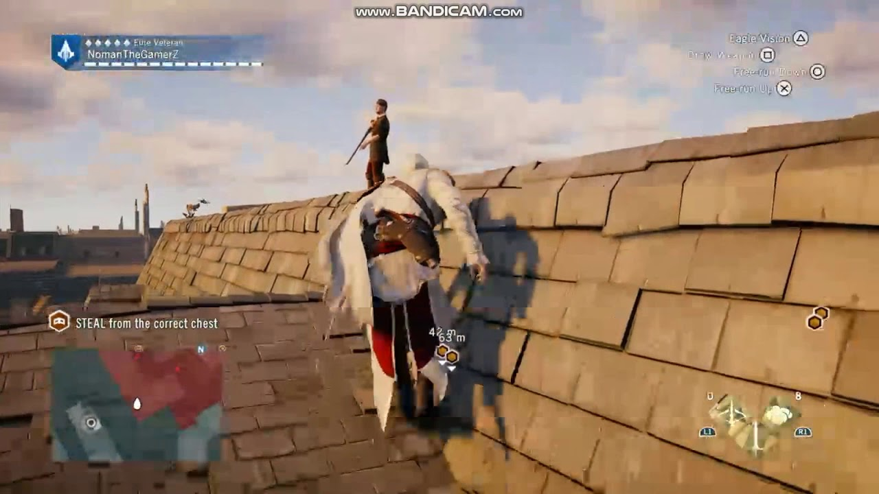 Doing One Of Hardest Mission By My Self Assassins Creed Unity