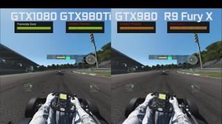 Project CARS w VR (HTC Vive) – porównanie czterech kart graficznych – ładna pogoda