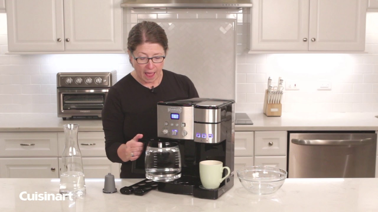 Cuisinart How To Clean Your Coffeemaker Ss 15 Youtube