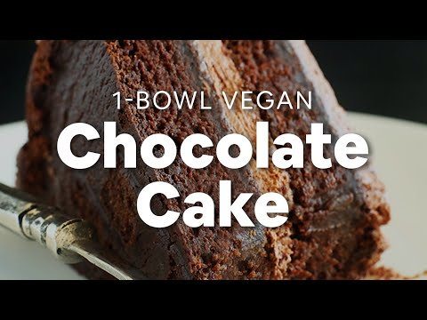 1 Bowl Vegan Chocolate Cake