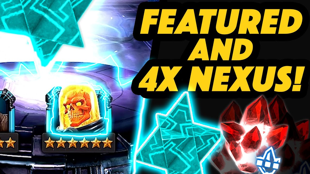 MASSIVE: 1x Featured 6 Star and 4x NEXUS and DUAL 5 Star Opening and MORE!