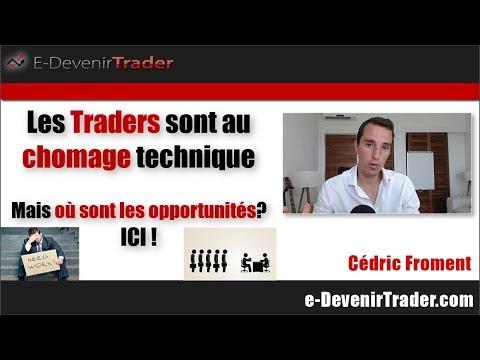 Traders au chômage technique, mais où sont passées les opportunités ? (ICI)