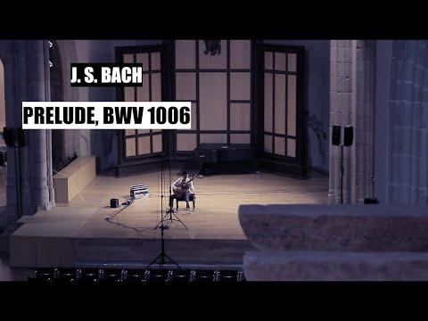 Bin Hu plays Bach Prelude BWV 1006