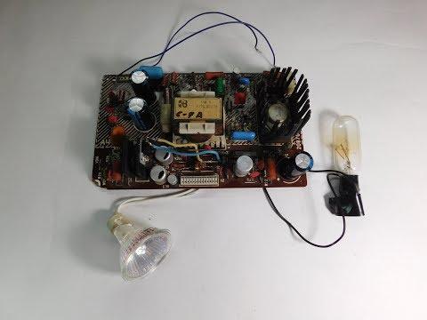 видео: ИМП-3-3 Зарядное из БП старого телевизора.