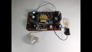 ИМП-3-3 Зарядное из БП старого телевизора.
