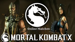 Mortal Kombat X (PS4) Scorpion (Inferno & Ninjutsu) & Kitana (Assassin & Royal Storm) Online Matches(This is another set of online matches after the Balance Patch was added to MKX using Kitana and Scorpion again, but with Scorpion taking the lead in this set of ..., 2016-10-05T21:38:57.000Z)