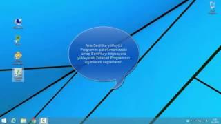 TURKTRUST ZetaCAD Uygulamasında E-İmza Kullanımı