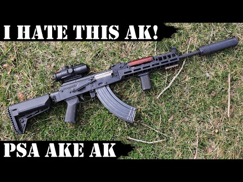I Hate New Palmetto State Armory AKE AK With FN Barrel!
