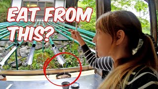 Crazy Flying Noodles in Infamous Tsunami Town in Japan