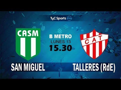 Primera B Metropolitana: San Miguel vs. Talleres (RdE) l #PrimeraBenTyC