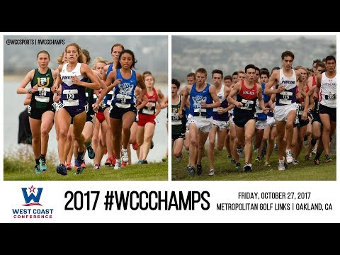 2017 West Coast Conference Cross Country Championships
