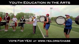 Cadets All Access - Drums on the Field