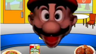 Mario's Head is Very Hungry!