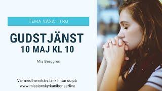 20200510 Gudstjänst i Missionskyrkan i Bor kl. 10