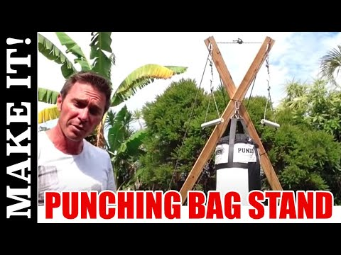 How To Make The Ultimate Punching Bag Stand Total