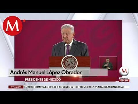 AMLO celebra orden de aprehensión contra Mario Marín