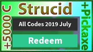 promo codes for strucid 2018