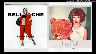 Bellyache VS. Teddy Bear - Billie Eilish VS Melanie Martinez (Concept Mashup)