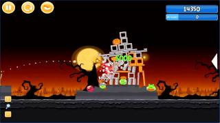 Angry Birds trick or treat 3 Estrellas parte 2-1
