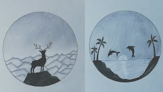 2 easy pencil drawing idea for…