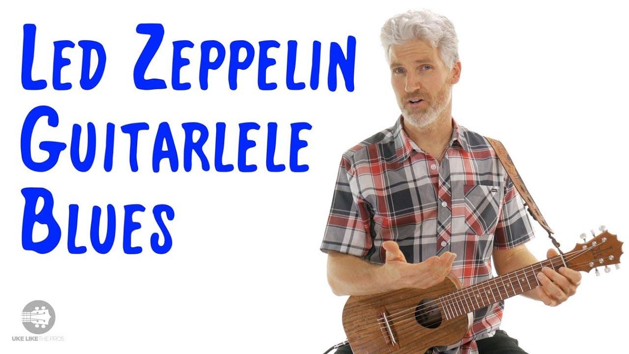 Led Zeppelin Blues Guitarlele Lesson | Bring It On Home Rhythm | 4K