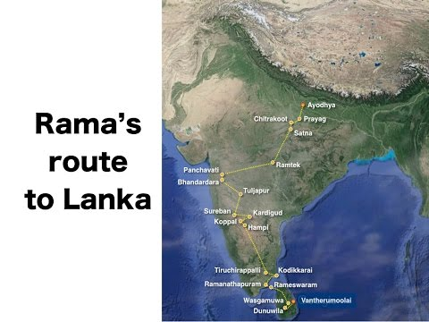 Rama's Route To Lanka (Rama Vanvas - Ramayan)