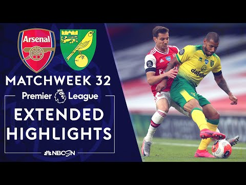 Arsenal v. Norwich City | PREMIER LEAGUE HIGHLIGHTS | 7/1/2020 | NBC Sports