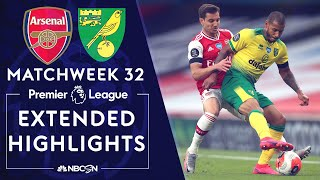 Arsenal v. Norwich City   PREMIER LEAGUE HIGHLIGHTS   7/1/2020   NBC Sports