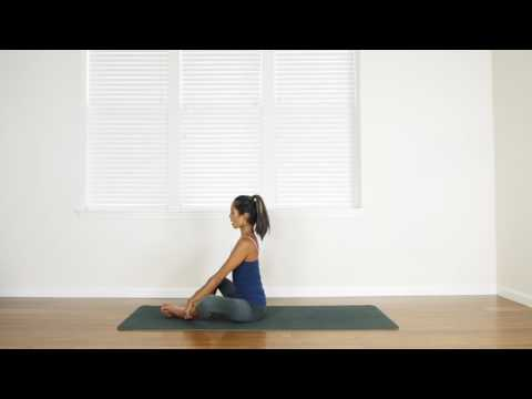 bound angle pose yoga for beginners